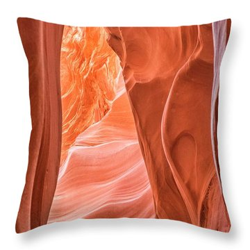 Canyon Textures Throw Pillow