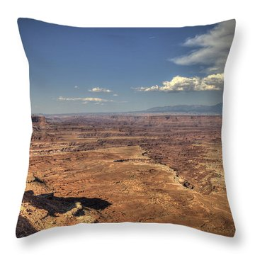Canyonlands Colorado River Throw Pillow