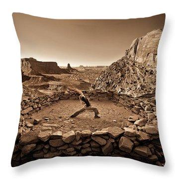 Canyonlands Kiva Throw Pillow