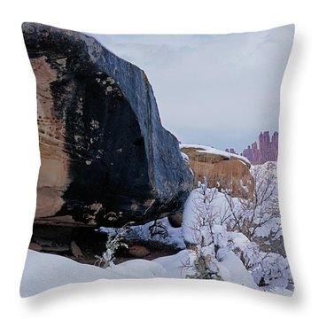Canyonlands Swirl Throw Pillow