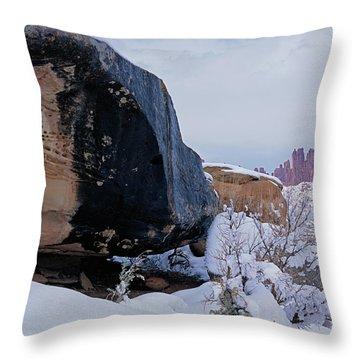 Canyonlands Swirl Throw Pillow