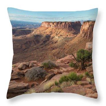 Canyonlands View Throw Pillow