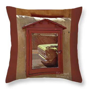 Canyonrowreflect02 Throw Pillow