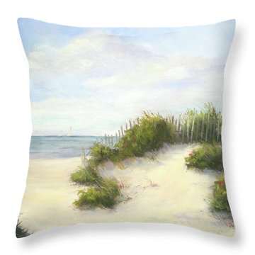 Cape Afternoon Throw Pillow by Vikki Bouffard