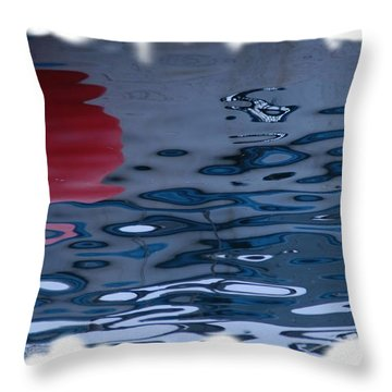 Cape Ann Colors Throw Pillow by Mike Martin