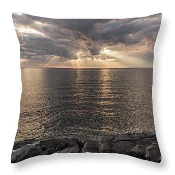 Cape Breton Island Throw Pillow