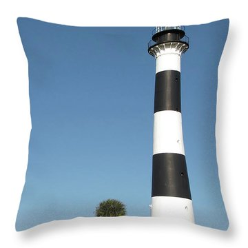 Cape Canaveral Lighthouse  Throw Pillow