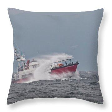 Throw Pillow featuring the photograph Cape Cockburn by Randy Hall