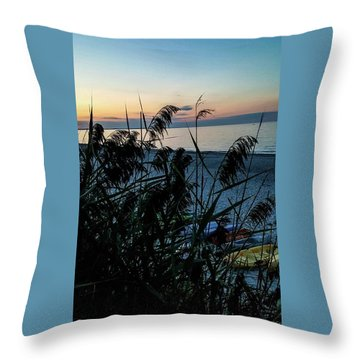 Cape Cod Bay Throw Pillow by Bruce Carpenter