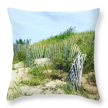Cape Cod Throw Pillow by Beth Saffer