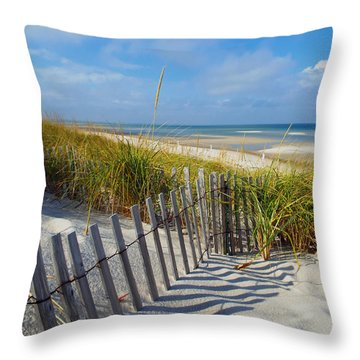 Cape Cod Charm Throw Pillow