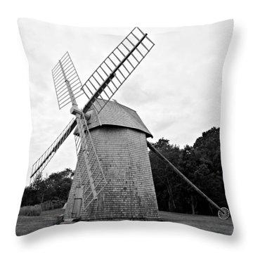 Cape Cod - Old Higgins Farm Windmill Throw Pillow