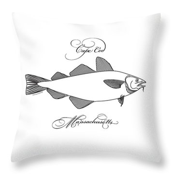 Cape Cod Throw Pillow