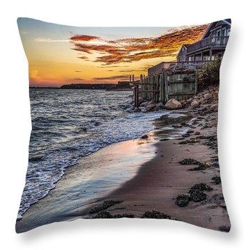 Cape Cod September Throw Pillow