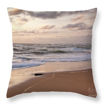 Throw Pillow featuring the photograph Cape Cod Sunrise 1 by Susan Cole Kelly