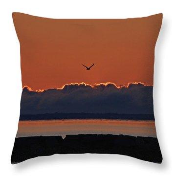 Cape Cod Sunrise #2 Throw Pillow