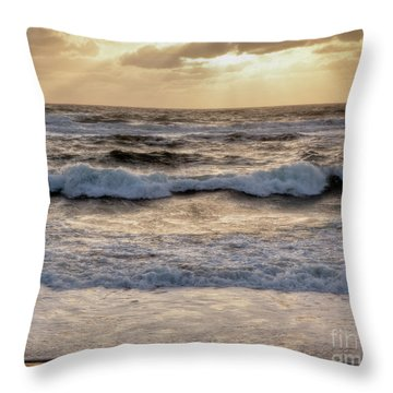 Throw Pillow featuring the photograph Cape Cod Sunrise 2 by Susan Cole Kelly