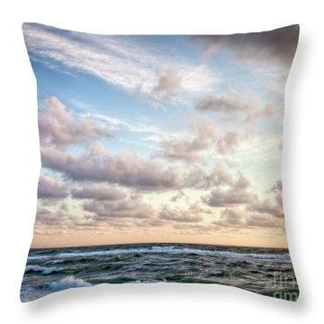 Cape Cod Sunrise 3 Throw Pillow by Susan Cole Kelly