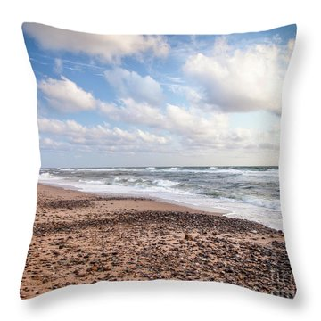 Cape Cod Sunrise 4 Throw Pillow by Susan Cole Kelly