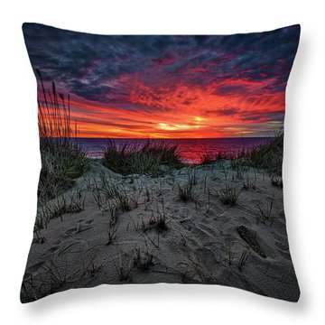 Cape Cod Sunrise Throw Pillow