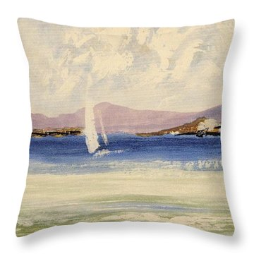 Cape Days Throw Pillow
