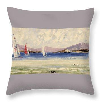 Cape Days Throw Pillow