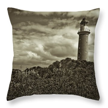 Throw Pillow featuring the photograph Cape Du Couedic by Tom Vaughan