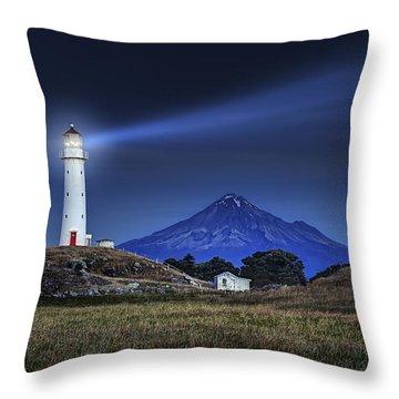 Cape Egmont Throw Pillow