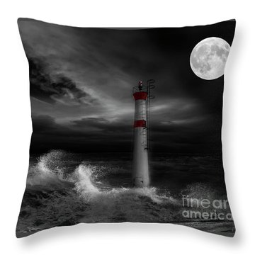 Cape Fear Throw Pillow