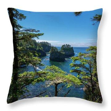 Cape Flattery 2 Throw Pillow
