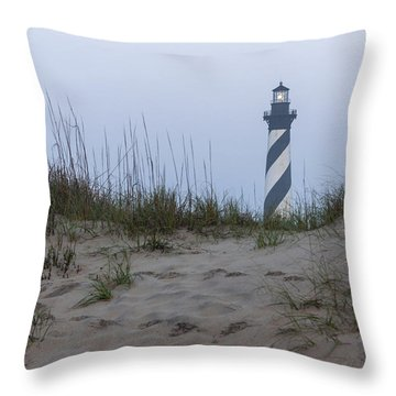 Cape Hatteras Over The Dunes Throw Pillow