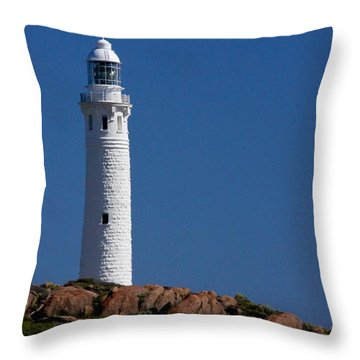 Cape Leeuwin Light House Throw Pillow