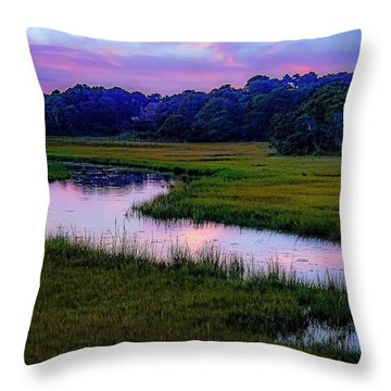 Throw Pillow featuring the photograph Cape Light by Kendall McKernon