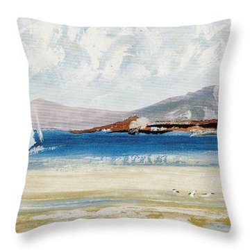 Cape Sailing Throw Pillow