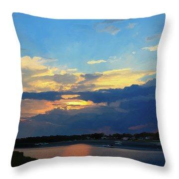 Cape Sunset  Throw Pillow