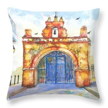 Capilla Del Cristo Puerto Rico Throw Pillow