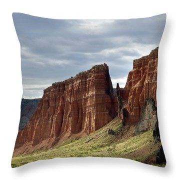 Capital Reef-cathedral Valley 9 Throw Pillow