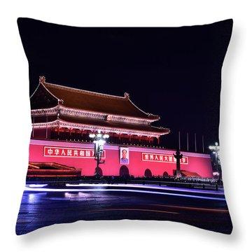 Capital's Light Throw Pillow