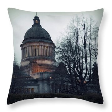 Capitol Aglow Throw Pillow