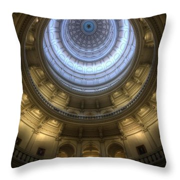 Capitol Dome Interior Throw Pillow