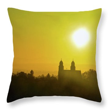 Capitol Hill Sunrise Too Throw Pillow