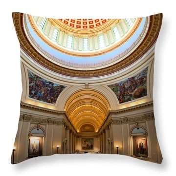 Capitol Interior II Throw Pillow