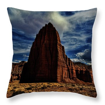 Capitol Reef Throw Pillow