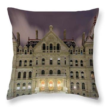 Capitol Snow Throw Pillow