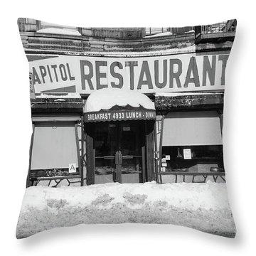 Capitol Winter Throw Pillow