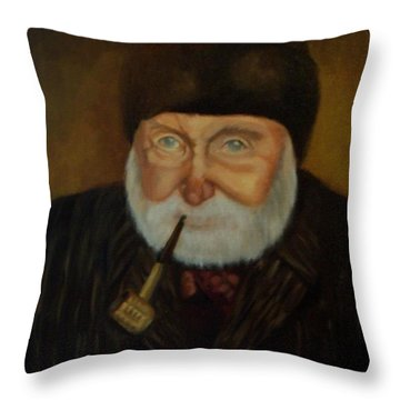 Cap'n Danny Throw Pillow