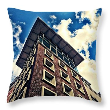 Capped Throw Pillow