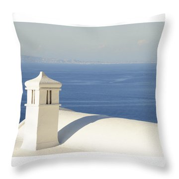 Capri Throw Pillow by Silvia Bruno