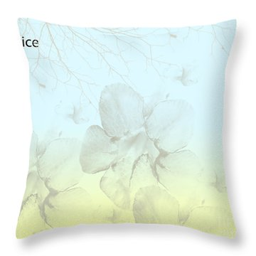 Caprice Throw Pillow by Trilby Cole