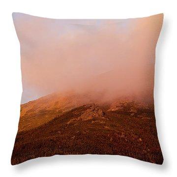 Caps Ridge Sunset Throw Pillow